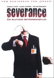 Severance - Ein Blutiger Betriebsausflug - Cover (1)